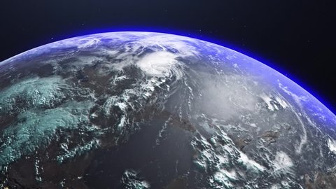 Very Realistic Planet Earth Made Stock Footage Video (100