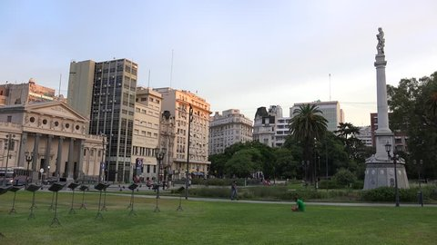 Image result for image plaza lavalle park buenos aires