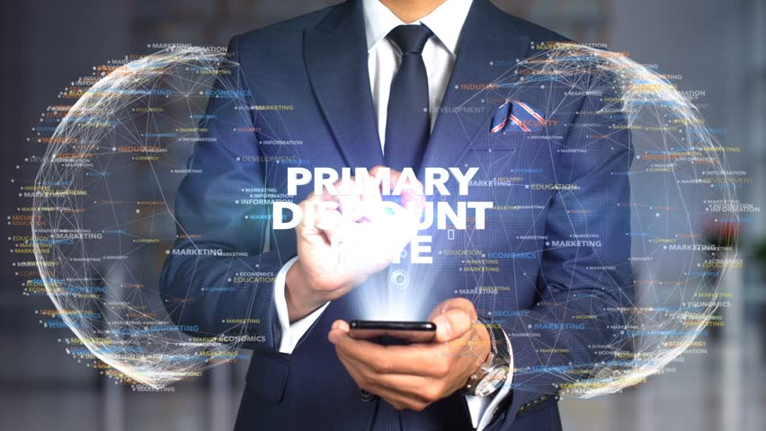 Businessman Hologram Concept Tech - PRIMARY DISCOUNT RATE   Shutterstock HD Video #1020894628