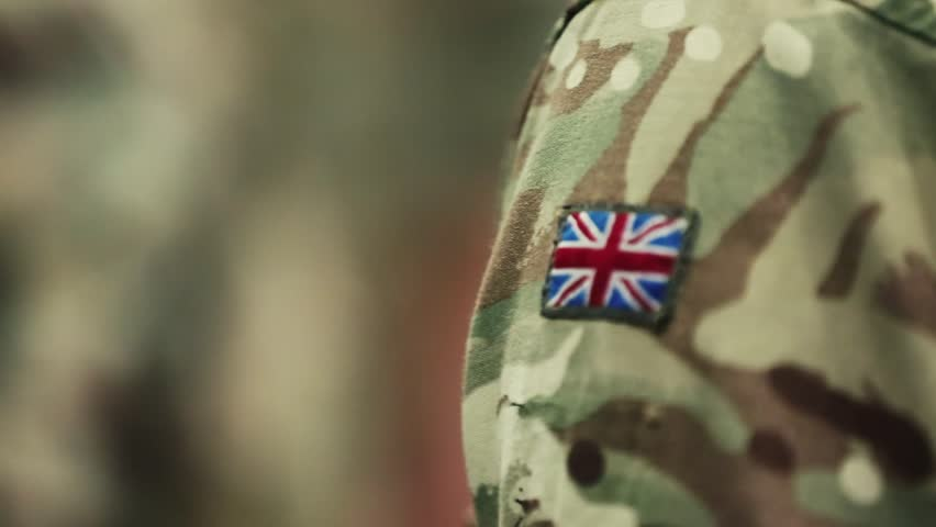 British Army Patch Stock Footage Video (100% Royalty-free) 1021255438 |  Shutterstock