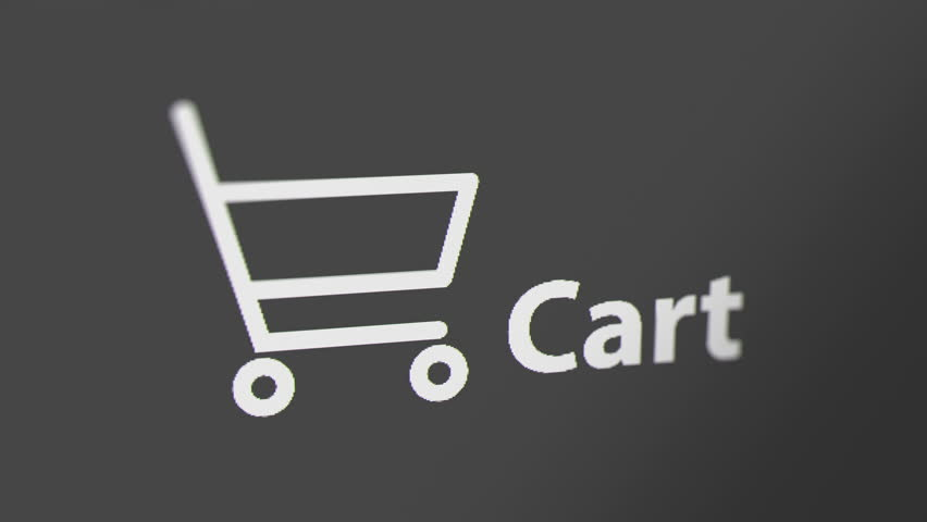 Cart Icon with Animated Counting Stock Footage Video (100% Royalty-free)  1021354828 | Shutterstock