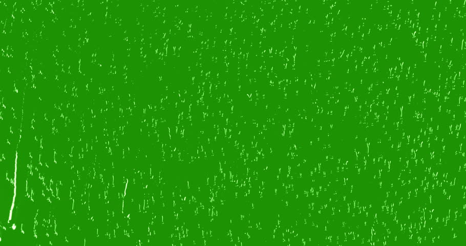 rain drops falling down on glass with chroma key green screen background, water droplets on window #1021491868