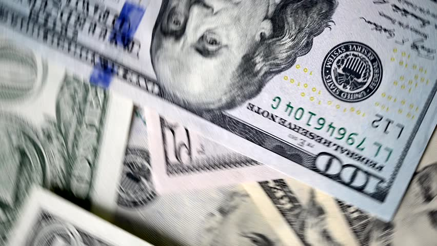 Money or dollar banknotes rotating in slow motion   Shutterstock HD Video #1021595698
