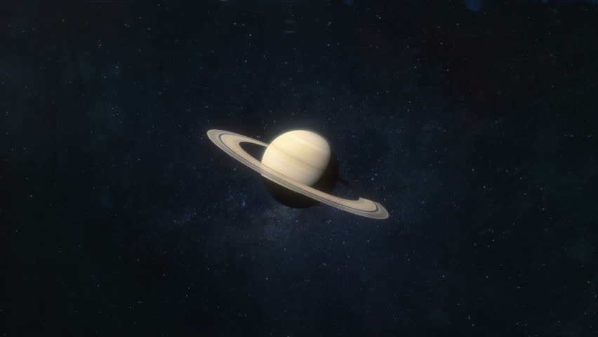 Approaching saturn background | Shutterstock HD Video #1021815868