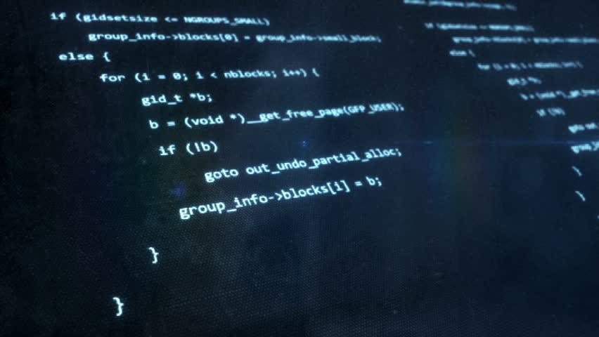 Computer Code Blue   Shutterstock HD Video #1021816768