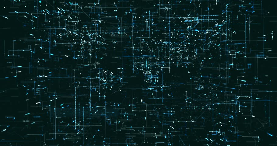 Abstract digital data background   Shutterstock HD Video #1022049478