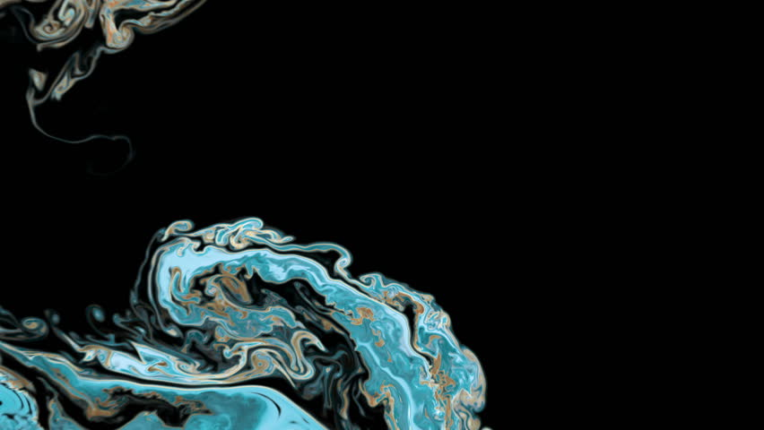 Abstract Colorful Paint Ink Explode Diffusion Psychedelic Blast Movement.  | Shutterstock HD Video #1022156338