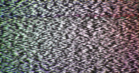 4K Broken reception tv interference noise static insert element. Slow white noise.  Tv noise abstract. Weak TV signal. Bad reception. Retro TV. Between channels noise. Static flicker. Screen insert