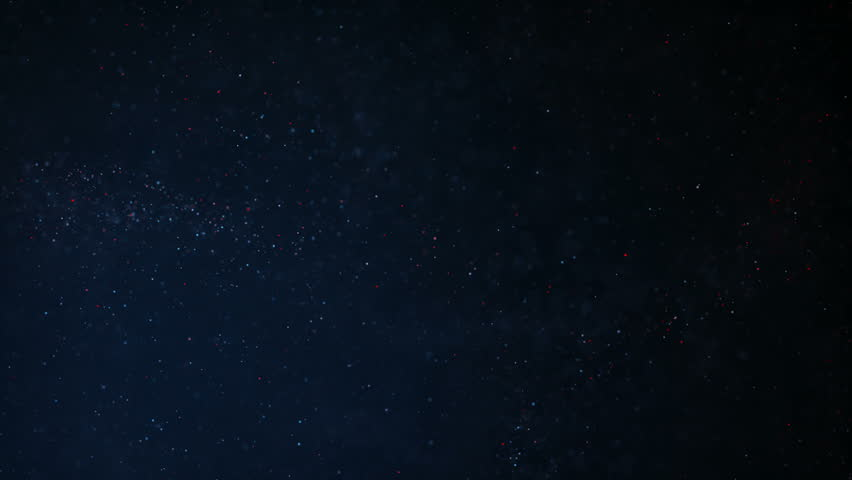 Abstract background with flying and flickering particles from dust. Animation of seamless loop. | Shutterstock HD Video #1022352628