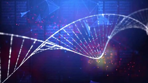DNA double helix  medical research background