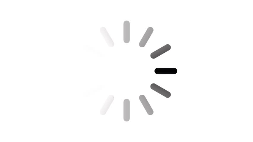 Loading circle animation isolated white background | Shutterstock HD Video #1023268498