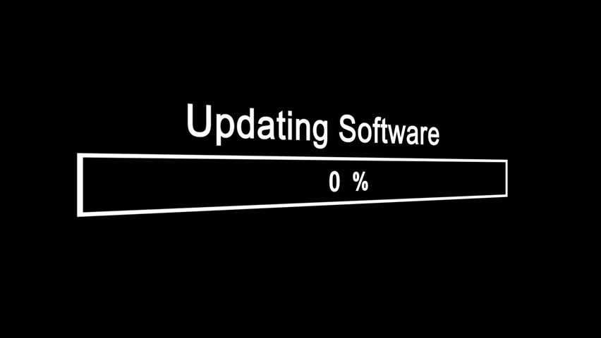 Update Software Process Animation Animation on Black Background | Shutterstock HD Video #1023389908