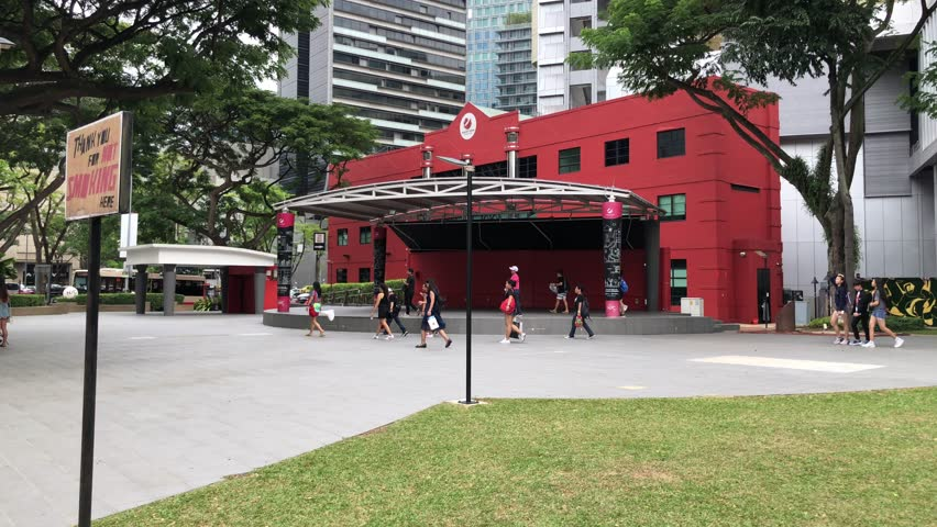 Jan 27/2019 midday at youth park, Singapore | Shutterstock HD Video #1023405568