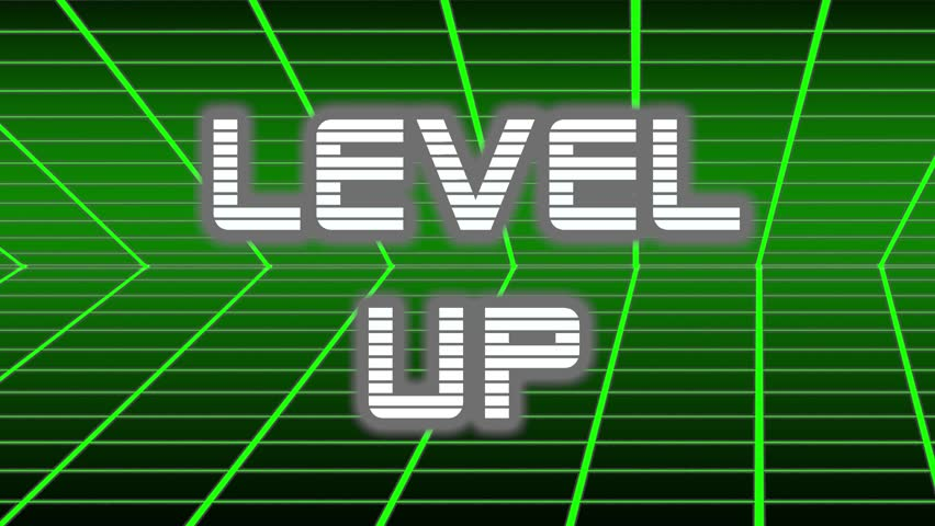 Animation of Level up Title Stock Footage Video (100% Royalty-free)  1023435358 | Shutterstock