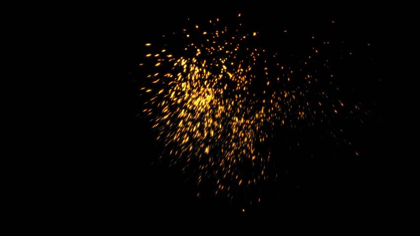 animation CG spark  #1023491878