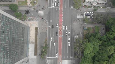 Aerial footage of Sao Paulo/SP/Brazil - December 2018