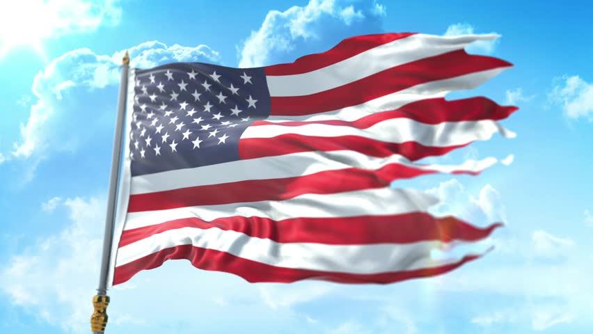 b36eac379b7 American Usa Flag with Pole