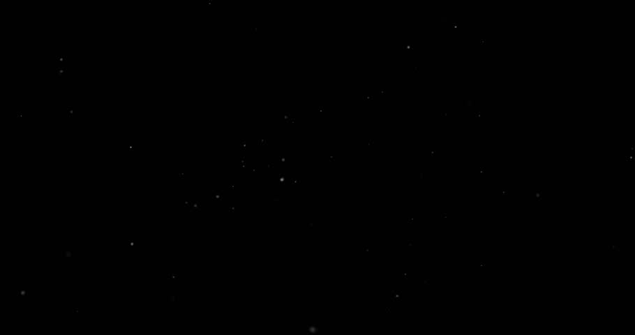 Flying dust particles on a black background | Shutterstock HD Video #1023812458