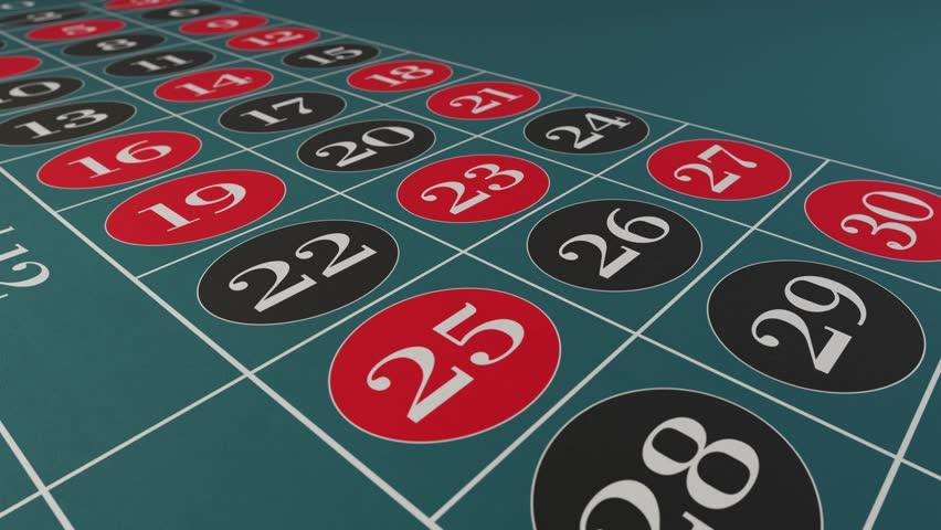 Casino chips fall on roulette table gambling drop win money | Shutterstock HD Video #1024147148