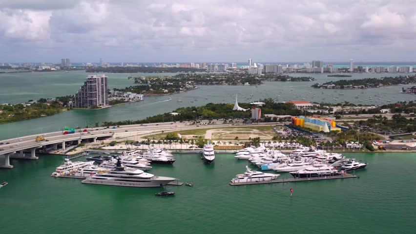 Super Yacht Show in Miami 2019 | Shutterstock HD Video #1024244888