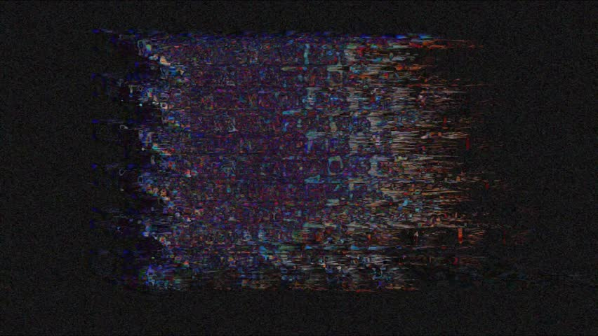 Digital pixel noise glitch art effect. Retro futurism 80s 90s dynamic wave style. Video signal damage with tv noise and old screen interference | Shutterstock HD Video #1024641758
