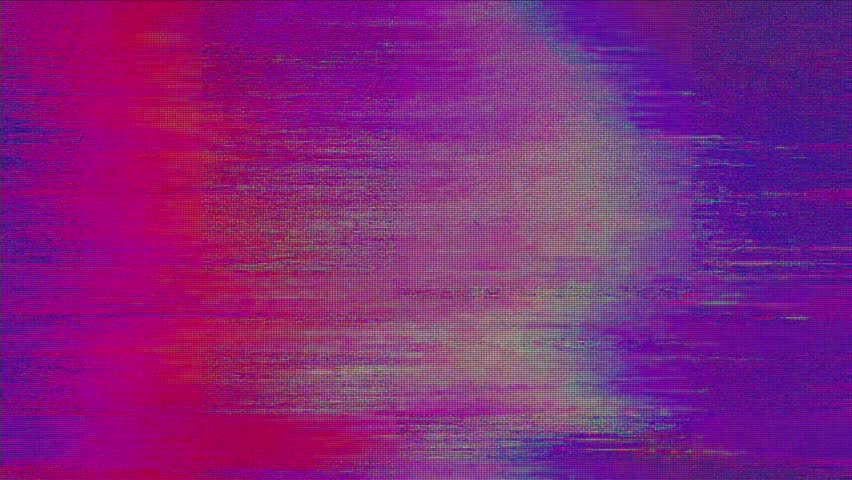Digital pixel noise glitch art effect. Retro futurism 80s 90s dynamic wave style. Video signal damage with tv noise and old screen interference | Shutterstock HD Video #1024641998