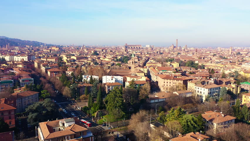 Shooting of the Italian City Bologna | Shutterstock HD Video #1024654268
