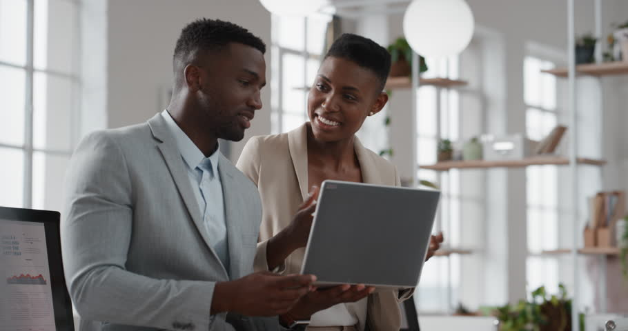 African American Team Leader Woman Stock Footage Video 100 Royalty Free 1025207318 Shutterstock