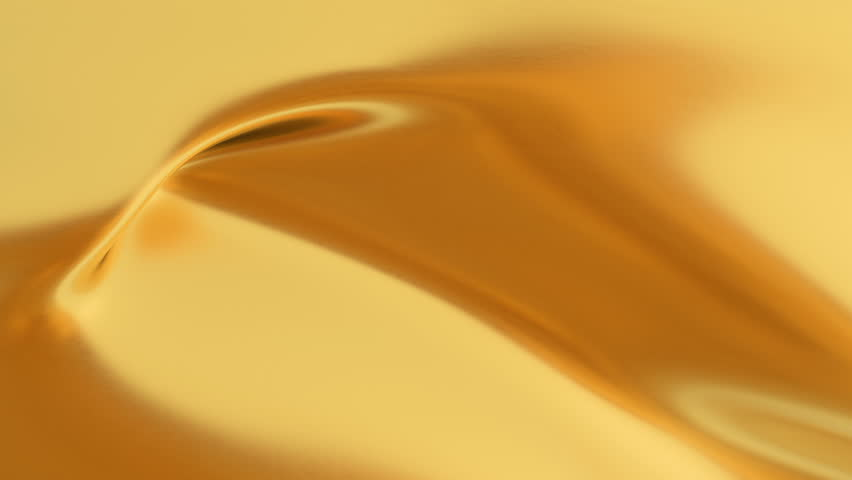 Abstract gold liquid. Golden wave background. Gold background. Gold texture. Lava, nougat, caramel, amber, honey, oil. | Shutterstock HD Video #1025415068