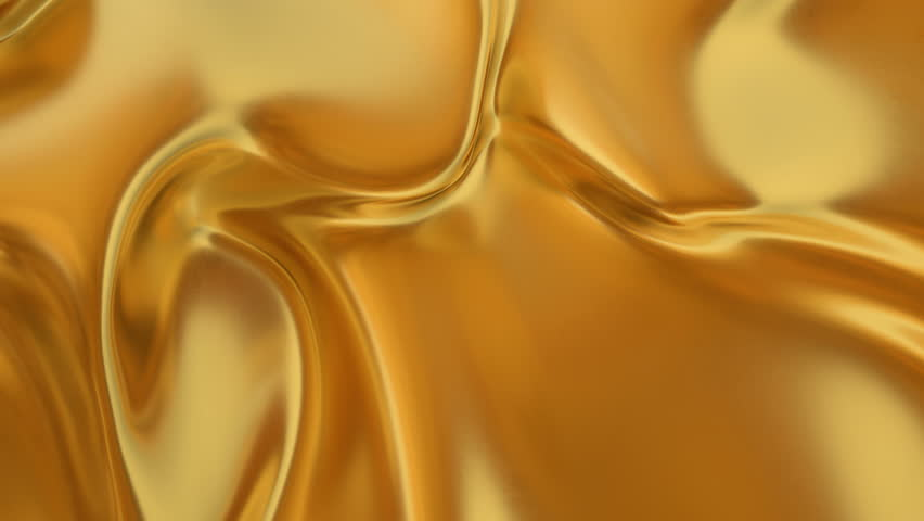 Abstract gold liquid. Golden wave background. Gold background. Gold texture. Lava, nougat, caramel, amber, honey, oil. | Shutterstock HD Video #1025462798