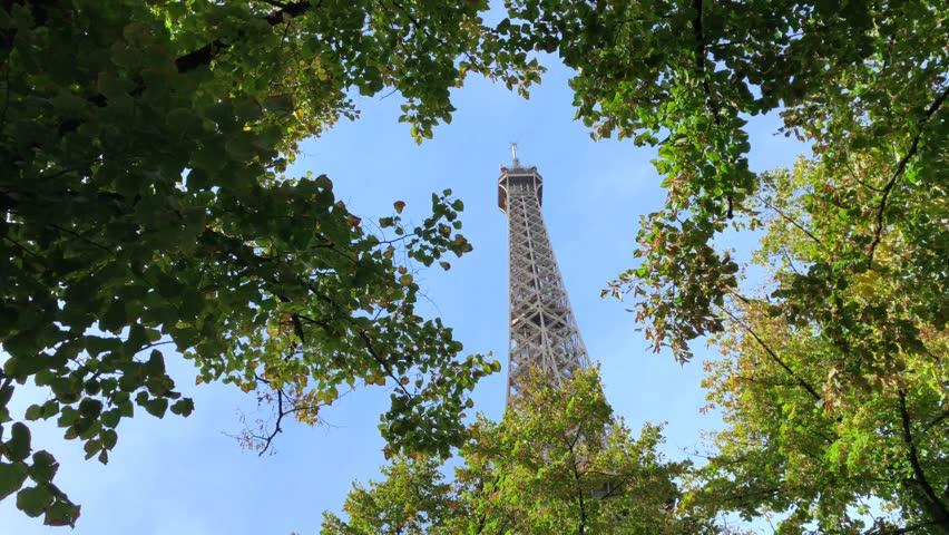Eiffel Tower Paris France    Shutterstock HD Video #1025723348