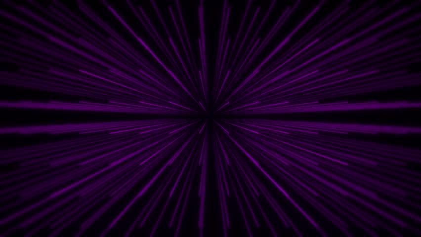 3D Glowing Purple Lines Animation VJ Loop Motion… - Royalty