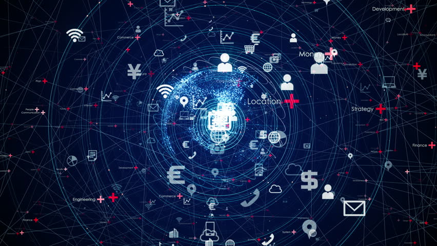 IoT (Internet of Things) concept.   Shutterstock HD Video #1026483218