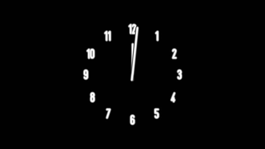 Clock Time Lapse Full Hd Stock Footage Video (100% Royalty-free) 10265798 |  Shutterstock