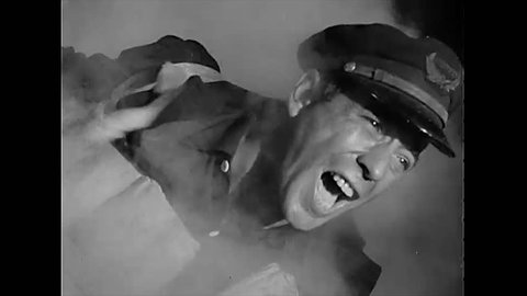 CIRCA 1943 - Humphrey Bogart plays an American sailor fighting to keep his men alive after a German sub torpedoes their vessel.