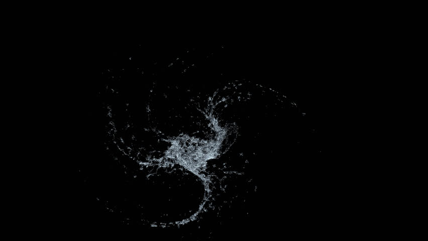 Water Splash Flow of Liquid Shape Crystal Clean Nature Shape of Heart, Wave splashes, Health Day, 3d slow motion animation, mask and isolated color key mask for elements, Water circle looping | Shutterstock HD Video #1027631228
