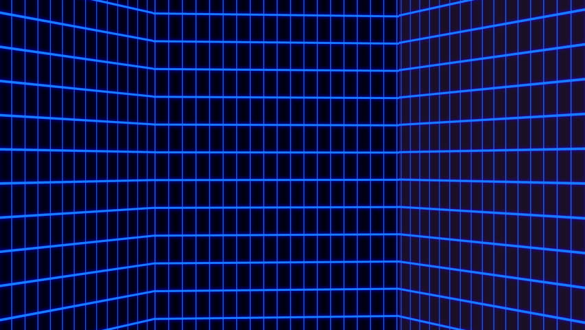 Vertical Blue Retro-futuristic 80s Synthwave Stock Footage Video (100%  Royalty-free) 1027704608 | Shutterstock