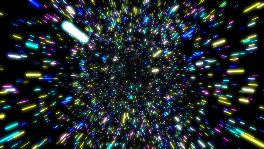 Animation hyper jump moving through Beautiful stars in Universe. | Shutterstock HD Video #1027934678