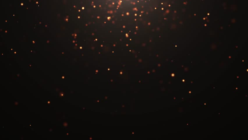 Gold light rays and stars. computer generated abstract motion background. 4k | Shutterstock HD Video #1028155538