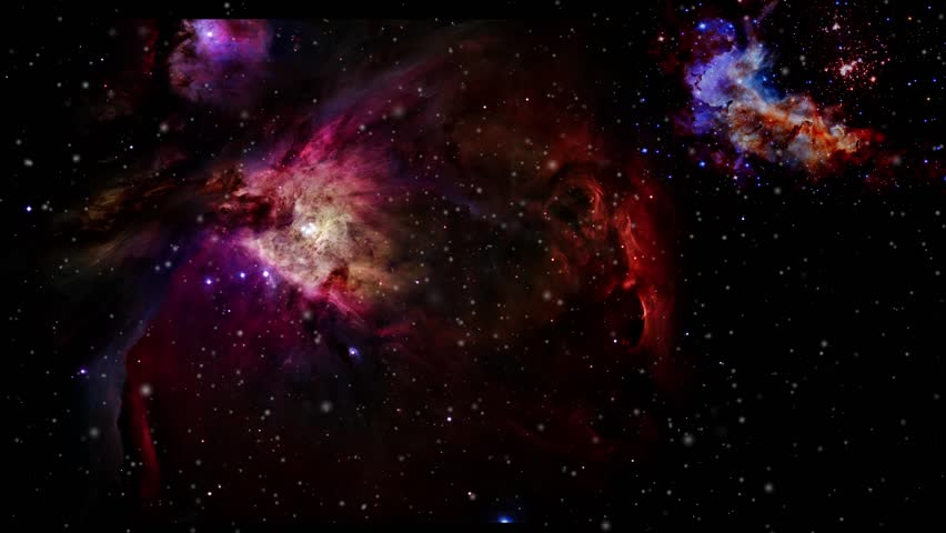 Space and starfield travel. Astronaut pov view. 3d animation. some elements provided by Nasa/hubble | Shutterstock HD Video #1028304038