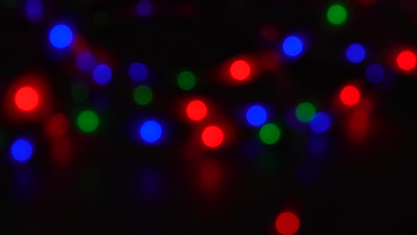 Bokeh, light and fluid movement in bright pigment | Shutterstock HD Video #1028478218