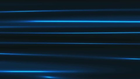 4K Blue Ocean Abstract Lines Animation Background
