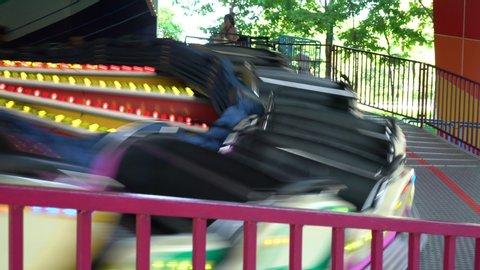 Spinning Music Express Carnival Ride