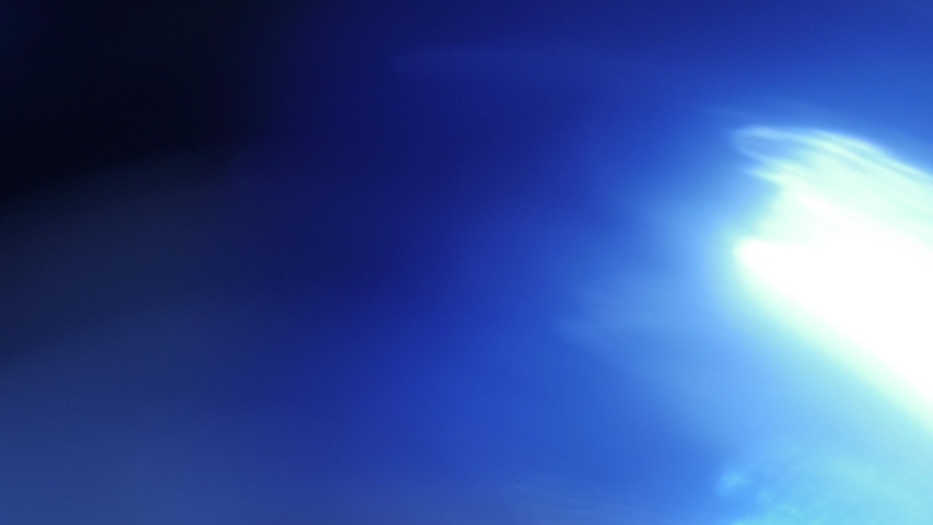 Ambient blue lens flare to use as overlay  | Shutterstock HD Video #1029938948