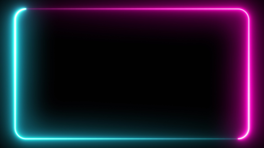 Abstract seamless pattern of neon glowing ultraviolet lines, modern fluorescent light, neon box, pattern for LED screens projection technology, loop 4k background, blue purple spectrum   Shutterstock HD Video #1030218668