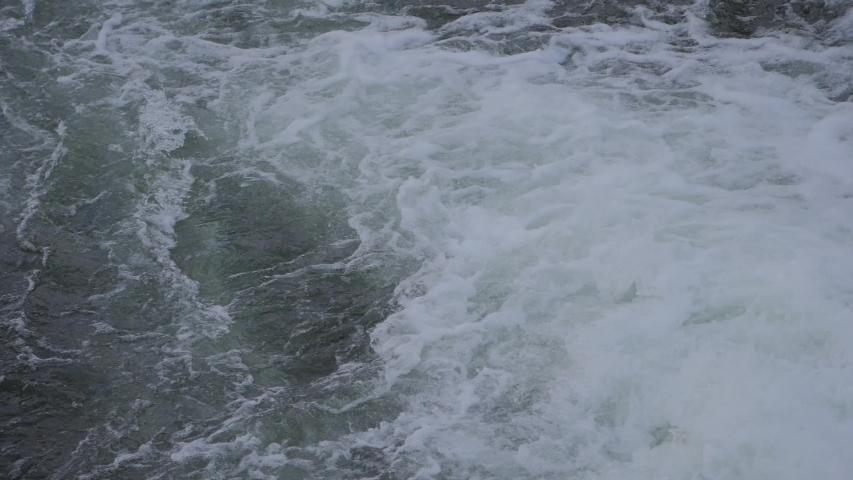 Water Torrent Flow. River Water Torrent flow Detail Closeup  | Shutterstock HD Video #1030235648