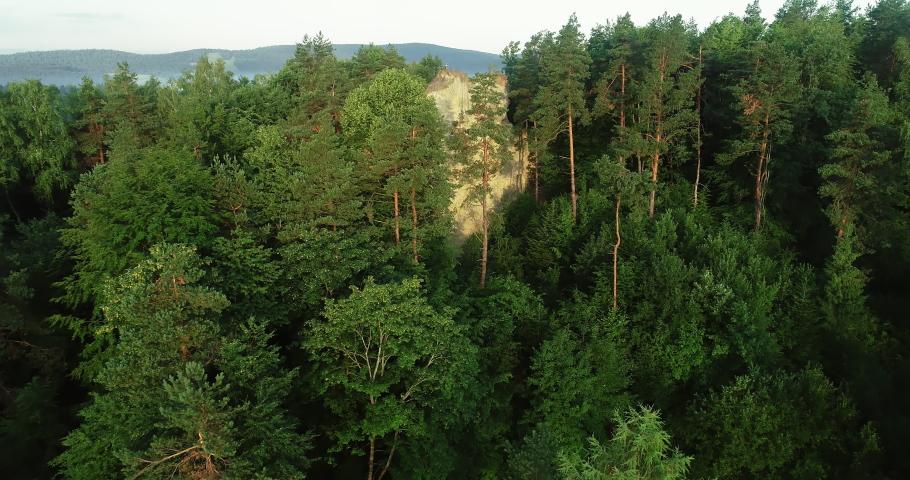 Drone footage of Kamie? Leski. | Shutterstock HD Video #1030240238