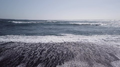 Lanzarote Black Sand Beach Salinas de Janubio