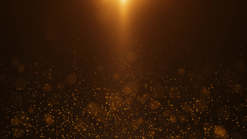 Gold Light Sparkles Background 4K   Shutterstock HD Video #1030571858