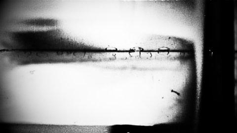 Flicker 098: Abstract film leader forms flicker and pulse (Loop).